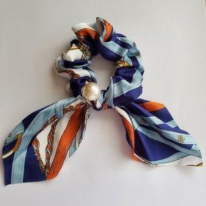 Vintage 90's Silk Scrunchie